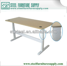 hot sale height adjustable office room table