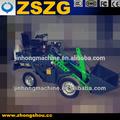 Usado retroescavadeiras para venda ZL-03 elétrica mini carregadeira de rodas para venda