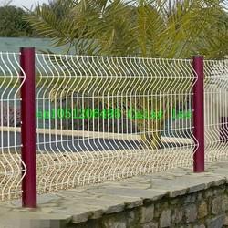 large dog fences /iron fence,pvc coated wire mesh fence,garden fence