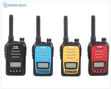 PMR-446 mini talkie walkie handsfree 5w vhf/uhf two way radio
