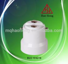 HAOHONG B22 HH018 B22 lamp holder / lamp cap / PBT Lamp holder