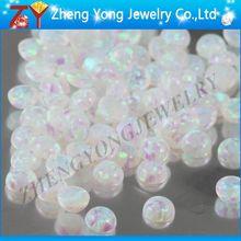 Shinning tint opal/Cabochon white opal/Opal shining tint proportion