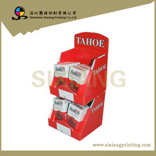 Design and Printing counter top shipper retail counter display box for wine