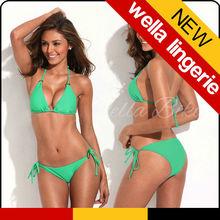 Wella Lingerie The Shape of Sexy Green Simply bikini Special design stylish stylish sexy bra girls bikini bra