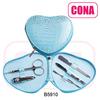 Wholesale high quality professional heart shape manicure set