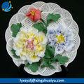 2014 presente popular decorativa porcelain com flor peônia XSY10353