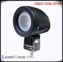 10w high power led 12v 24v led spotlights for cars offroad ip68 long lifetime 50000hours