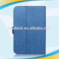 2015 Slim Flip Genuine Leather tablet case for kindle fire hdx 8.9