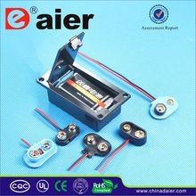 Daier 9 volt battery connector clip