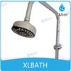XLBATH ABS Chromed Multifunctional standing shower spray head