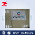 Promozionali a buon mercato bandiere macchina personalizzata, poliestere stampa bandiere auto, bandiere auto su auto