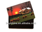 UV printing nature scenery lenticular 3d picture for wall hanging