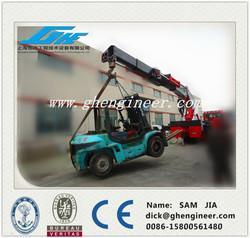 Heavy Hydraulic Telescopic Boom Truck Mounted Crane