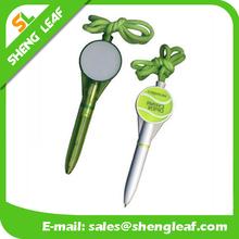 2015 hot selling models lanyard plastic cute pens