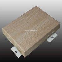 wood grain lamination film aluminum solid wall panel