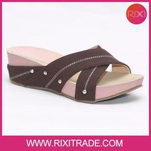 Rixi fashion design durable summer platform no heel shoes sandals high quality wholesale price