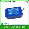 Optimumnano 12V 10AH LiFePO4 12v battery price