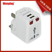 2014 High Quality CE & Rohs EU Universal Travel Adapter for More than 150 Countries
