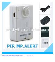 Hot selling wireless mobile sms alarm motion sensor