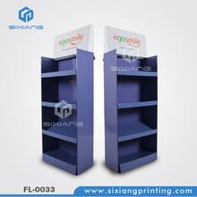 Slimming Pants Advertising Cardboard Floor Display, Cardboard Display Shelf