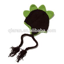 crochet dinosaur children beanies hat