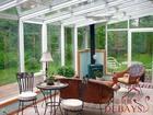 Nice sound insulation and decoration nature aluminum veranda sunroom