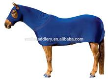 Royal Blue Elastic Lycra Horse Rug