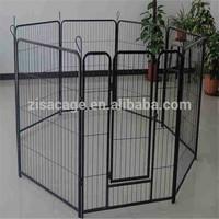 8panels metal dog pens kennel