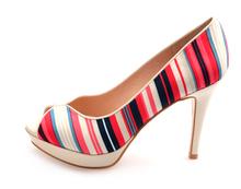 Sexy platform high heels dress high heels shoes women classics stripes high heels