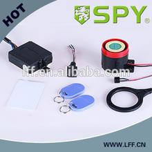 rfid one way motorcycle alarm, anti hijacking DC12V with cdi