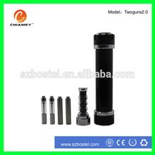 electronic cigarette heat wire Mini USB port twoguns 2.0 vaporizer pen