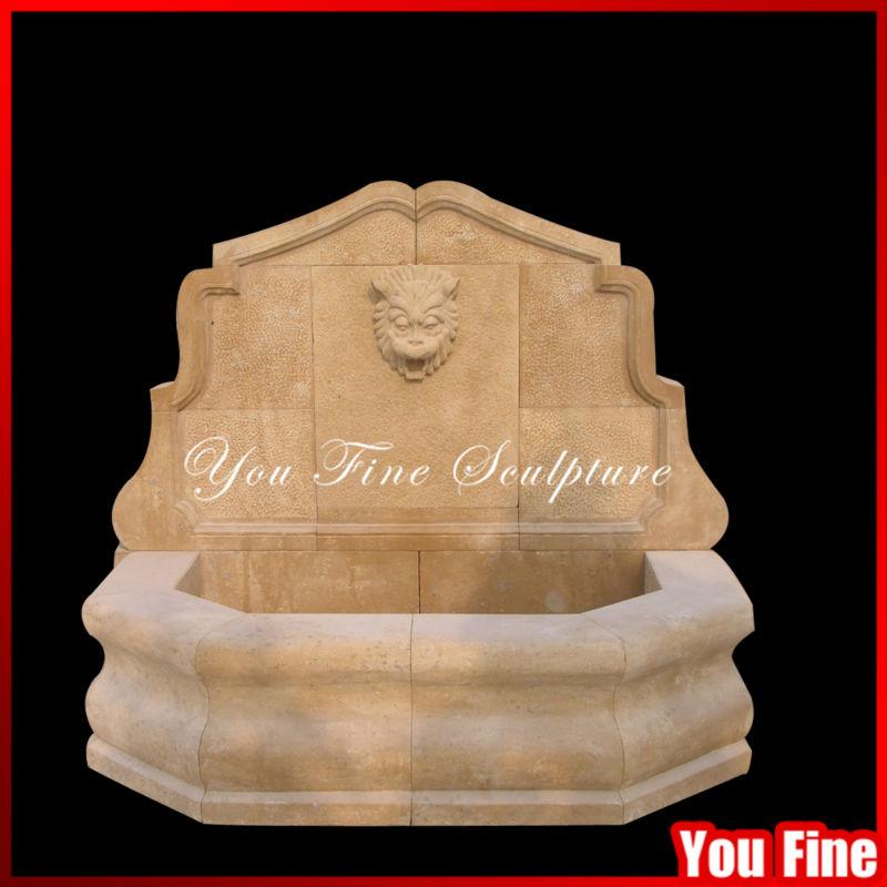 D corative ext rieure jardin pierre t te de lion fontaine - Pierre decorative exterieure jardin ...