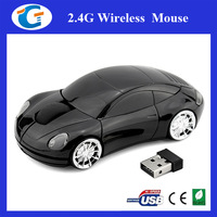 Car Design Optical 2.4G usb wireless mouse mice 10M working distance receiver