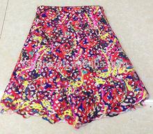 new lace designs multi color print cord lace design SL0265