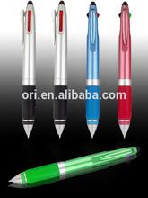 Cheap multicolor pen for promotion,Multi-functional pen gift ball pen