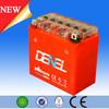 DENEL motorcycle gel battery,12v motorcycle battery,12v7ah kids battery operated motorcycles
