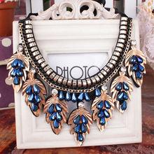 Metal Style Decoration Color Diamond Necklace/Fake Collar