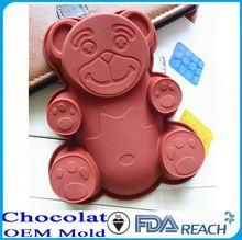 Mfg varios forma del silicón del chocolate moldes de esculturas de hielo moldes para la venta