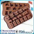 mfg de vários forma de chocolate moldes de silicone geléia doces molde de borboleta bolo forma de silicone do molde