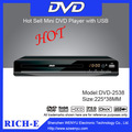 225mm mini dvd y reproductor de vcd