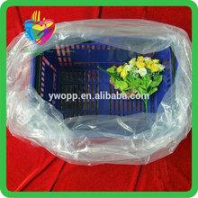 Yiwu China custom transparent packing pe big bag