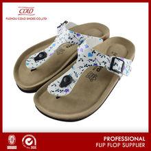 Coface 2014 new arrival PU thong sandal