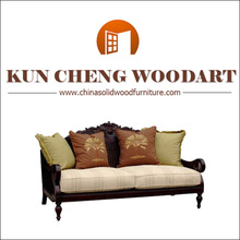 turkish style furniture/ China solid wooden frame sofa sets/luxury sofa
