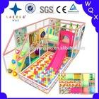 small galvanized steel pipe type kids playground indoor