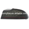 For PROTON Perdana LED Tail lamp 1999-2013 Year smoke Black Color YZ