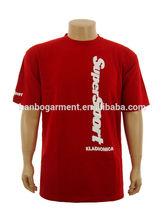 latest printing cotton t-shirts cheap fancy t shirt wholesale china export red plain t shirt