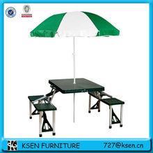 Aluminium folding picnic table sets TC13