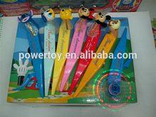 Best quality newly design plastic cartoon ballpen
