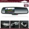 """rearview mirror night vision driving camera monitor DVR 140 degreen dual lens 4.3""""LCD rearview monitor"""