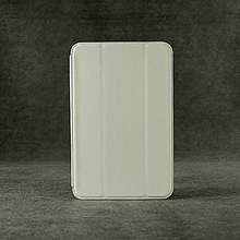 Folio cover leather case for lenovo A5500 8 inch-White